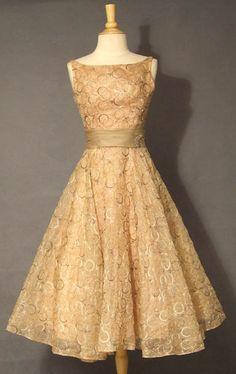 Vintage Cocktail Dress - Ocodea.com
