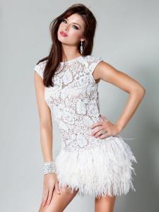 white cocktail dress macys