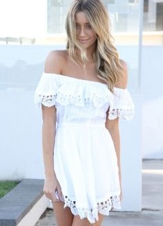 white lace summer dress 2