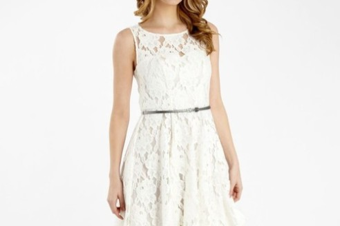 white lace summer dress forever 21