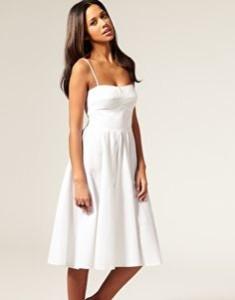 white summer dress ebay