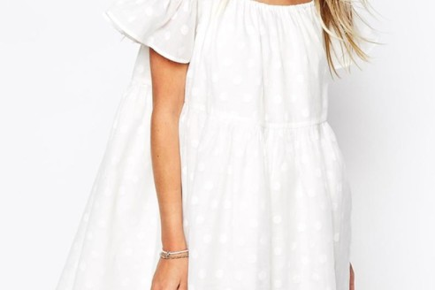 white summer dress pinterest