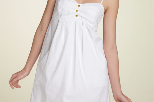 white summer dress size 16