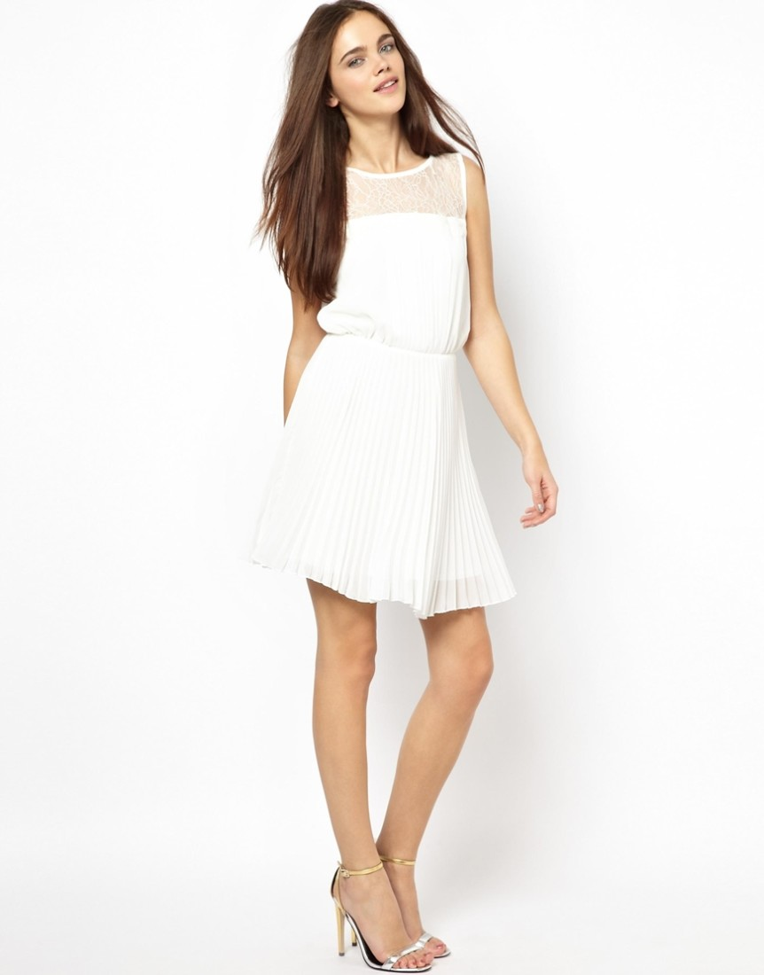 White summer dress long - Style Jeans