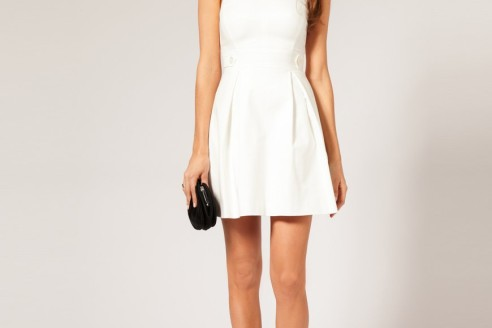 womens white dress suit