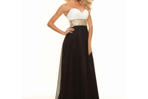 black and white formal dresses 2