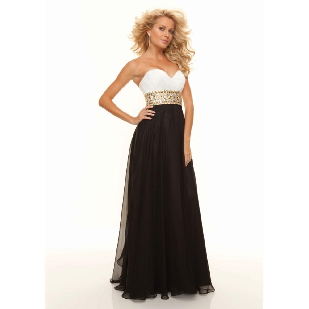 White And Black Dresses For Juniors