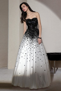 black and white formal dresses 3