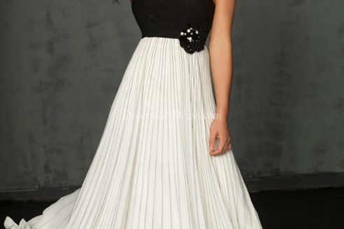 black and white formal dresses for juniors