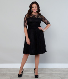black dress plus size australia