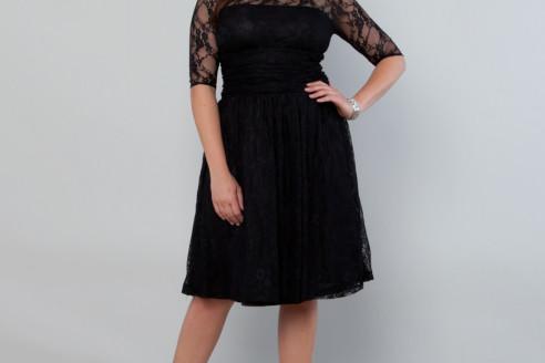 black dress plus size australia