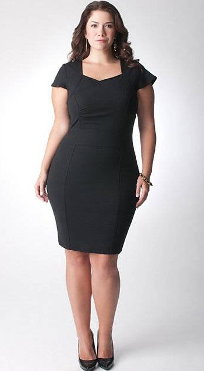 Womens Simple Black Dresses Plus Size Plus Size Dresses