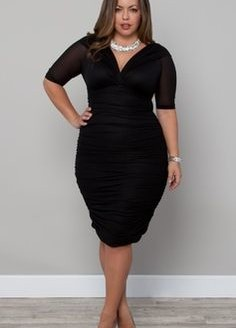black dresses plus size 2