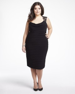 black dresses plus size 3