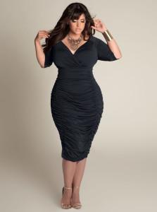 black dresses plus size uk
