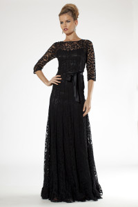 black evening gown 6