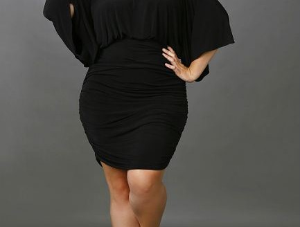 black plus size dresses 3