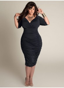 black plus size dresses 4