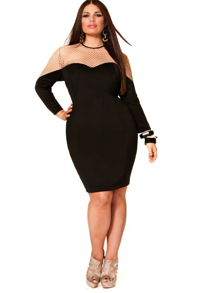 Black Plus Size Dresses With Sleeves Style Jeans