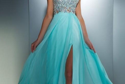 blue prom dress 2