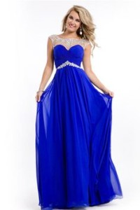 blue prom dress mermaid