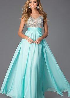 chiffon prom dresses 2