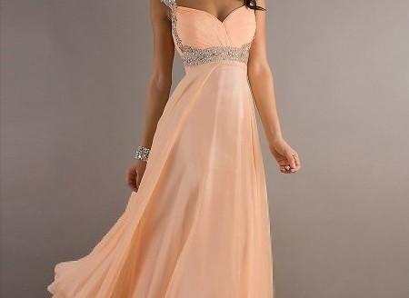 chiffon prom dresses short
