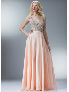 chiffon prom dresses under 100