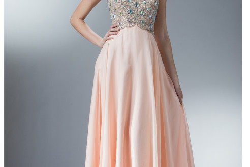 chiffon prom dresses under 100
