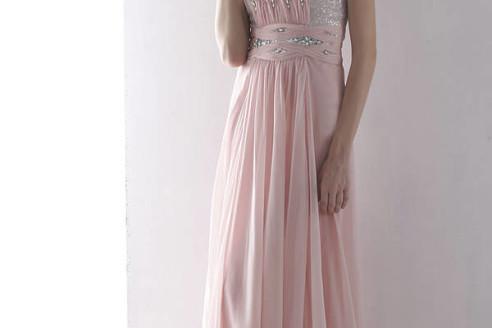 chiffon prom dresses under 200