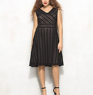 dress plus size 2