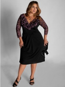 dress plus size lace