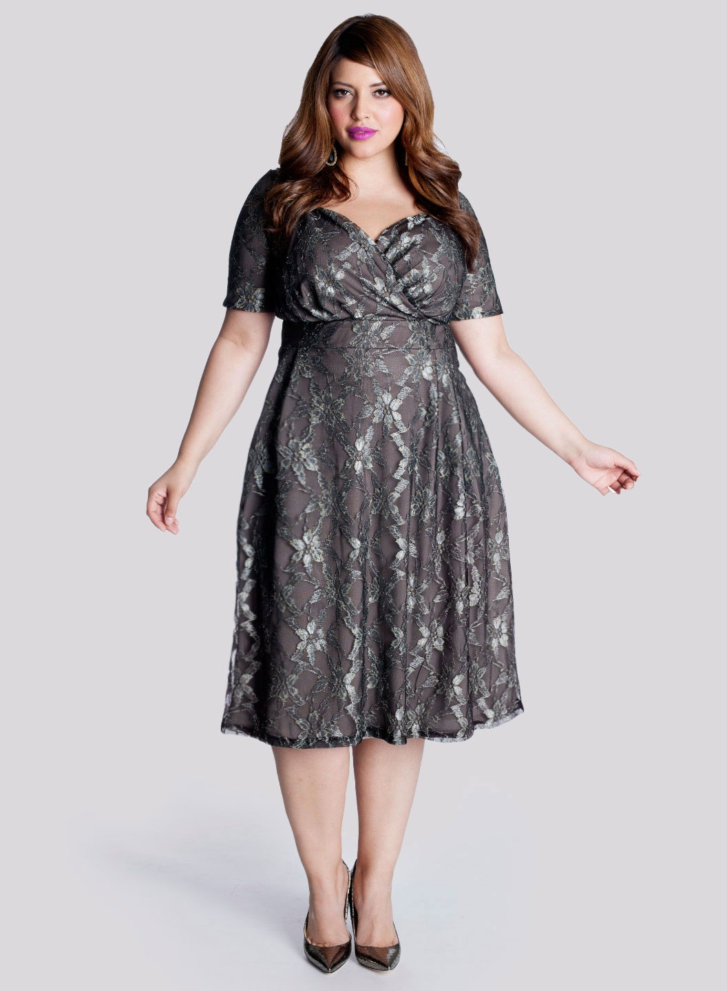 Dress plus size formal