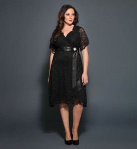 dress plus size wedding guest