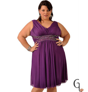 dresses for party plus size