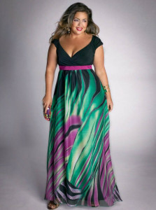 dresses for plus size apple shape