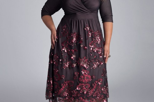 dresses plus size club