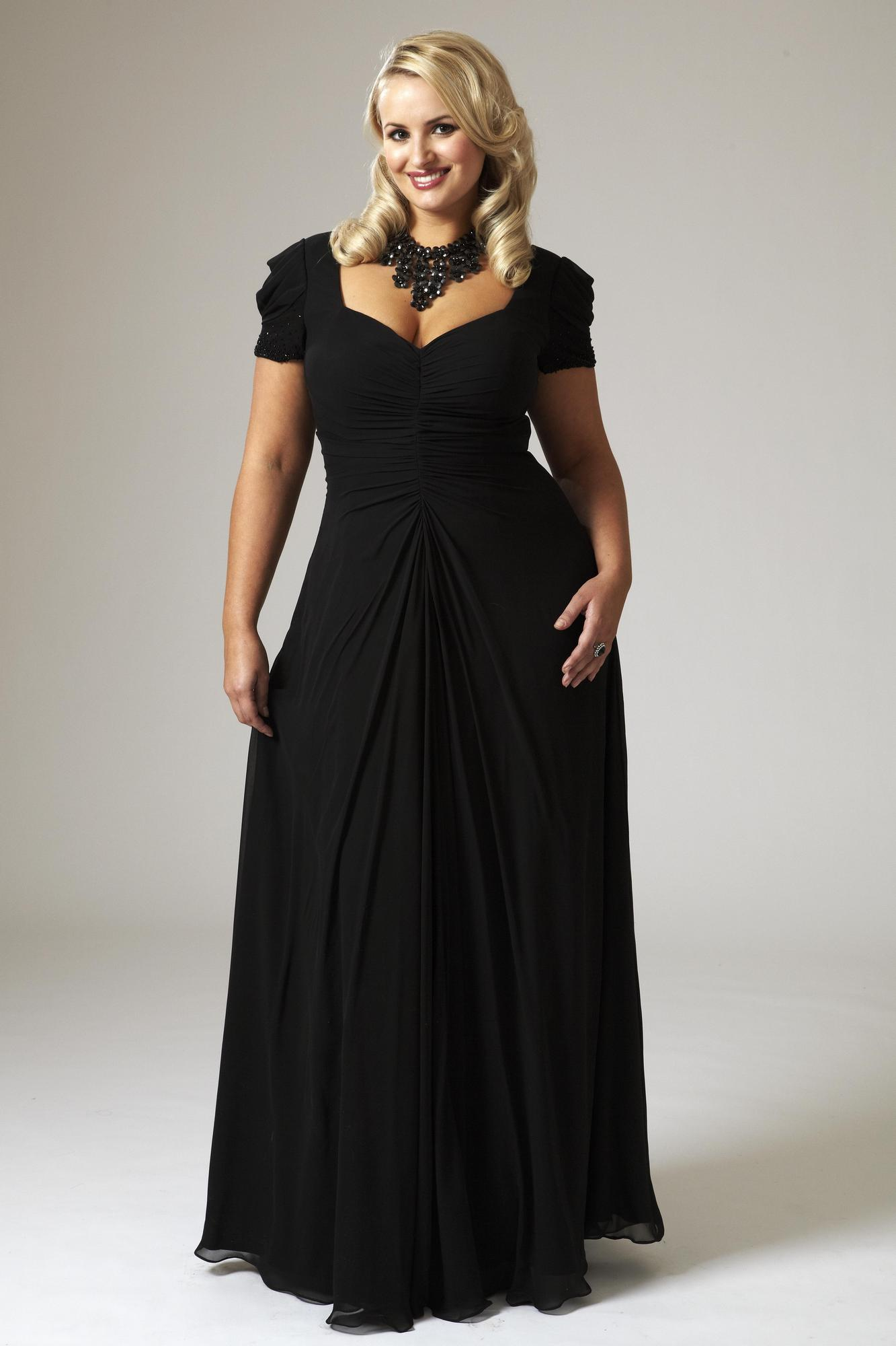 plus size dinner dress
