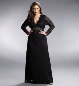dresses plus size long
