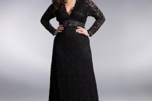 dresses plus size long