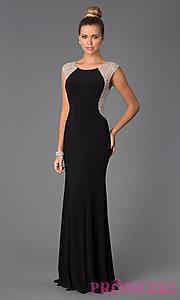 formal black dresses long