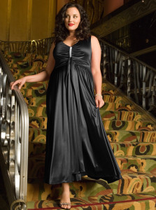 formal dresses plus size with sleeves