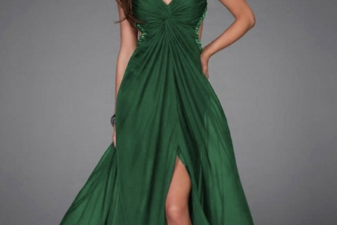 green formal dresses 3