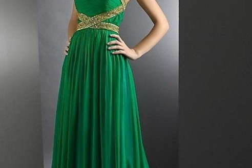 green formal dresses canada