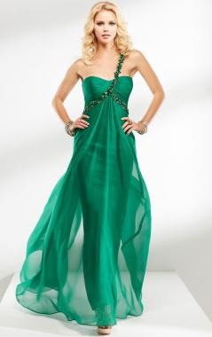 green formal dresses - Dress Yp
