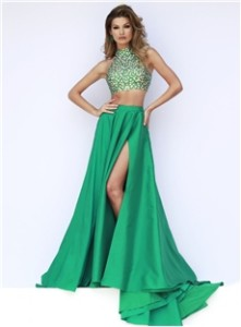 green formal dresses uk