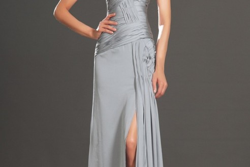 long party dresses with sleeves