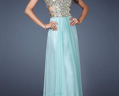 long prom dress for short girl