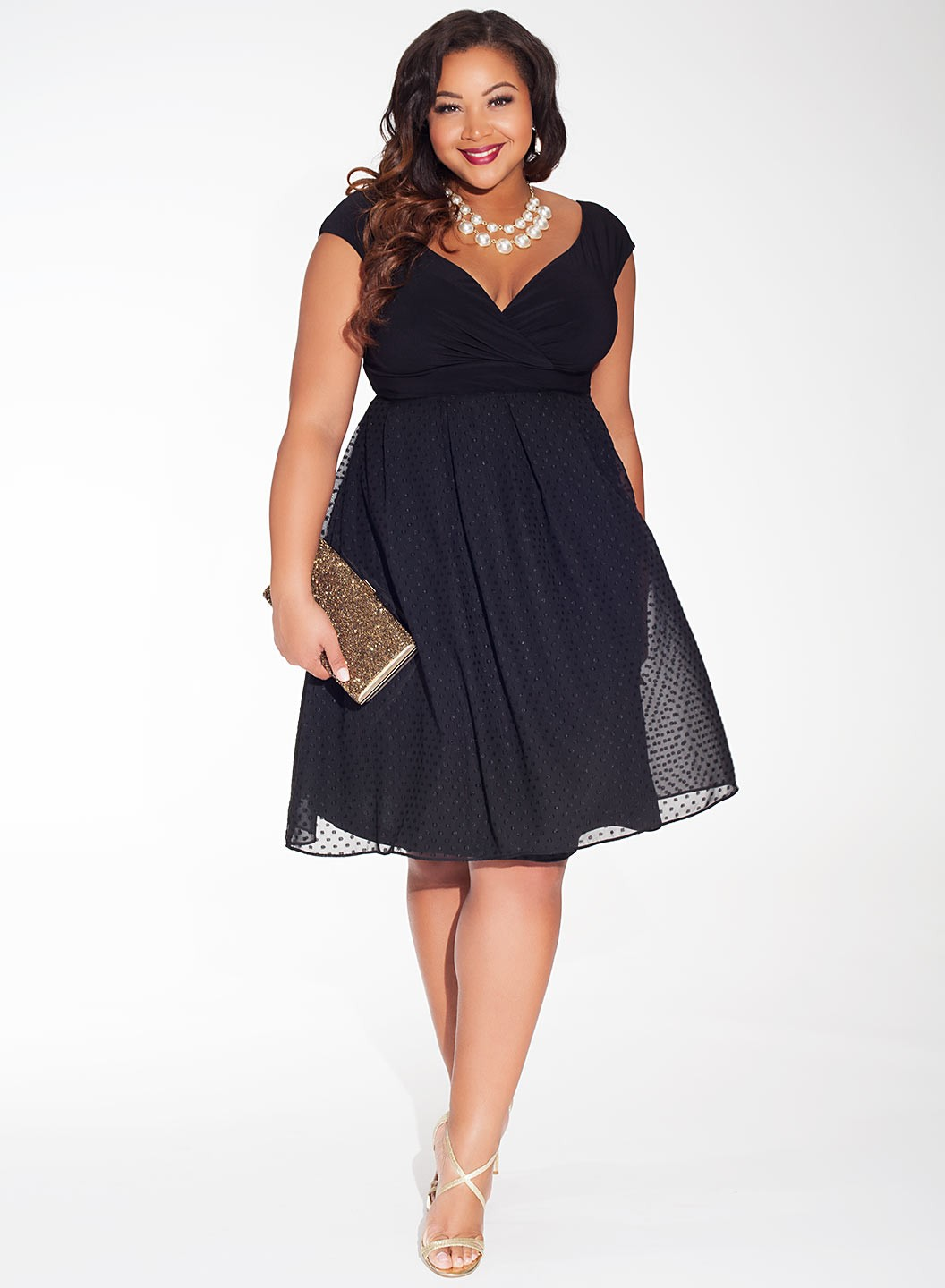 Party dresses plus size ladies - Style Jeans