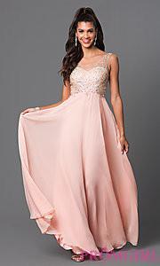 pink prom dress 2016